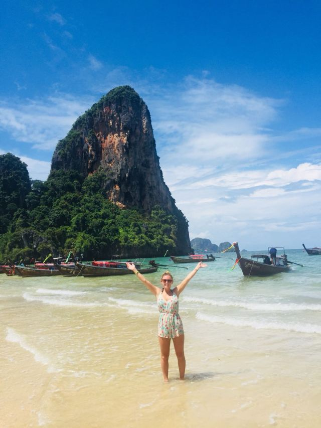 best beach in the world Railay beach Krabi