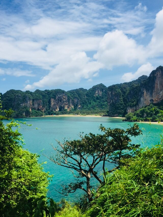 Railay beach Krabi viewpoint