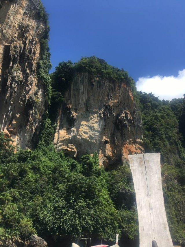 how to get from Ao Nang to Railay beach