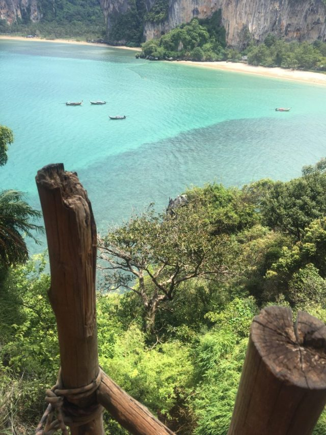 viewpoint of Railay beach