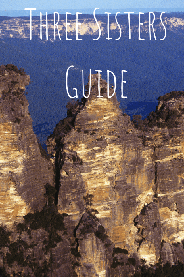 The Three Sister Mountains guide