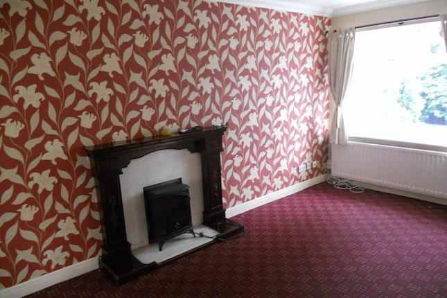 Old wallpaper and carpet