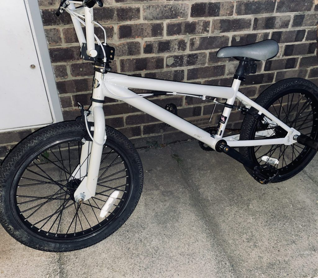 Free BMX on the drive