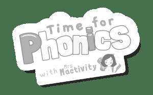 Time For Phonics Logo Greyscale