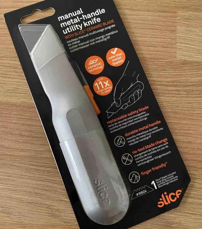 Slice Safety Ceramic Utility Knife