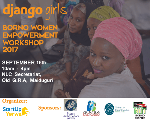Django Girls Borno and Maiduguri