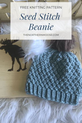 The Seed Stitch Knit Hat - The Northern Moose