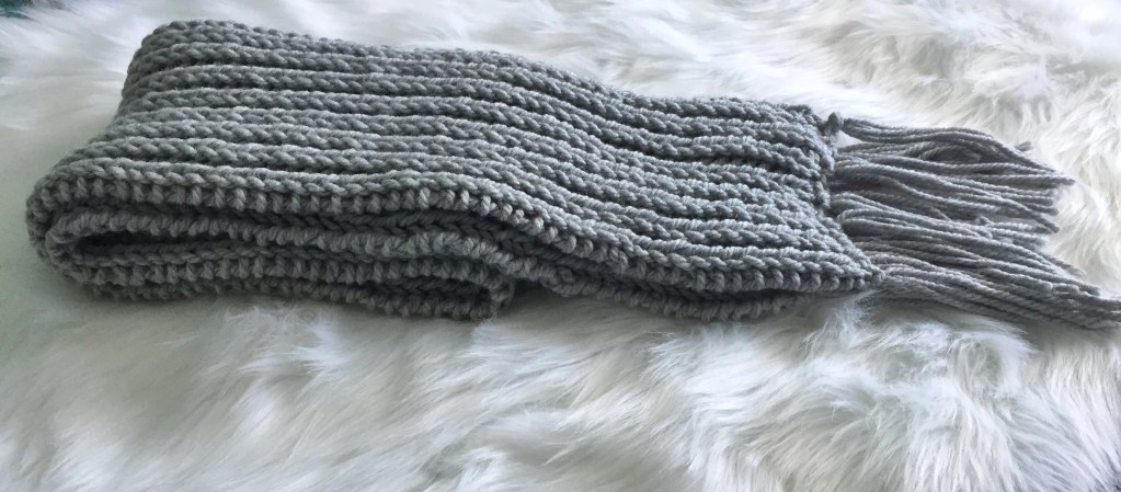 Chunky Ribbed Knit Scarf The Northern Moose