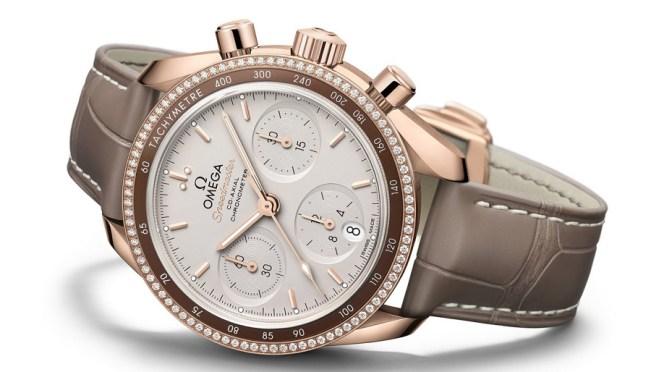 Omega Launches 18K Gold Ladies Speedmaster Edition
