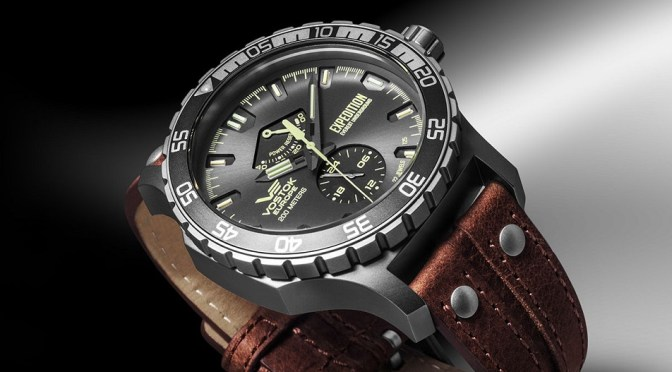 Vostok Expedition Mixes Tough Looks with Reliable Tech