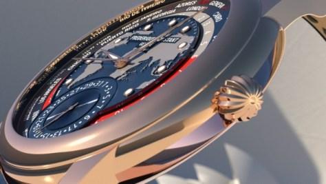 Frederique-Constant-Classic-Worldtimer-Manufacture rose gold crown