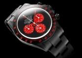 bamford watch custom red dial rolex