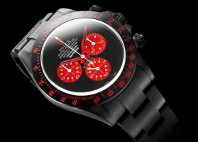 bamford watch custom red dial rolex