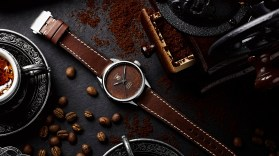 bamford watch dept coffee dial watch