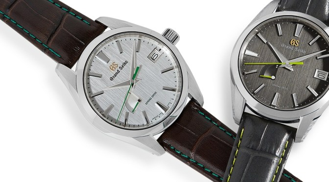Grand Seiko Offer Two Special Soko Editions for US Market