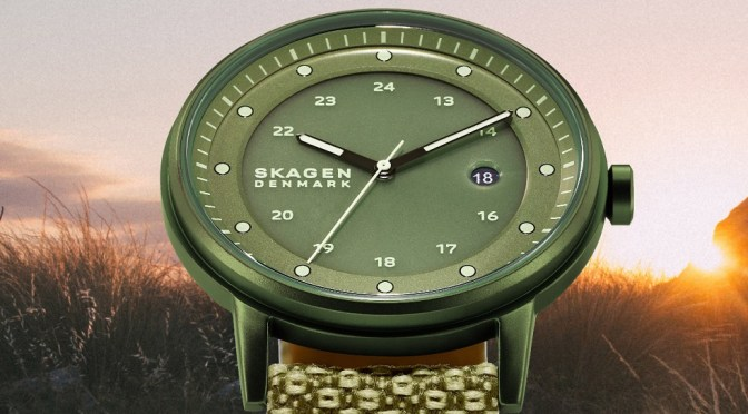 Skagen Henrickson Solar is A Green Dream for Woke Watch Fans