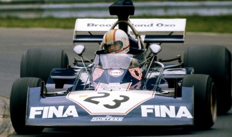 heuer sponsored surtees F1 car