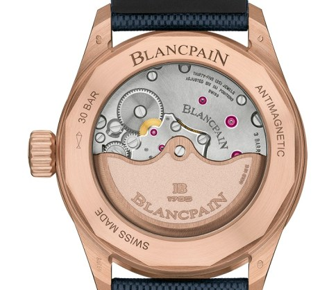 blancpain fifty fathoms movement