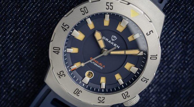 Draken Launch Benguela 500m Dive Model on Kickstarter at £296