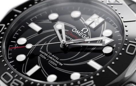 omega bond watch detail 2020