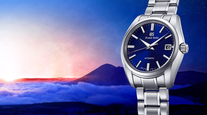 Latest Grand Seiko Heritage 60th is a Symphony in Blue