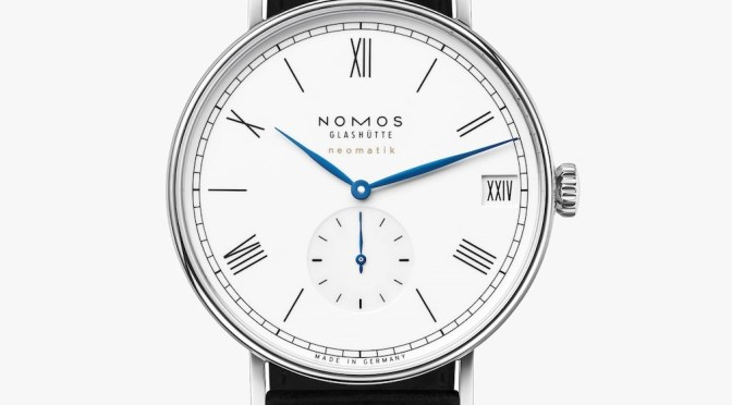Nomos Ludwig Limited Edition – Roman Numeral Date Feature