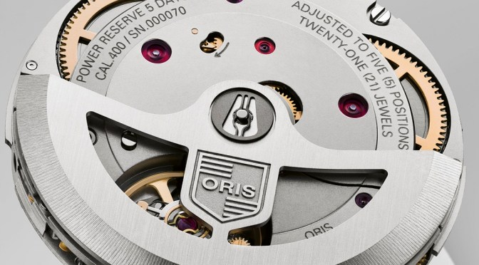 New Cal 400 From Oris is a Worthy Workhorse