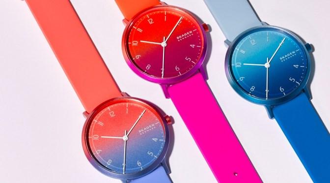 Tie-Dye Watch Anyone? Skagen Ombre Is Pure Retro