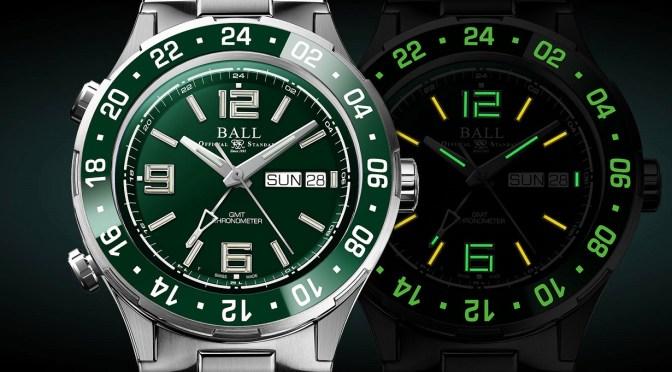Ball Roadmaster GMT, Kermit Green Edition