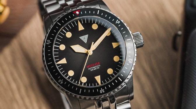 New Watches: Vertigo Medusa is 300m Dive Watch Winner