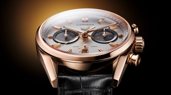 TAG Watches: Ltd Edition 18K Gold Carrera is a Stunning Jack Heuer Tribute