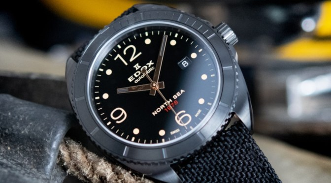 Edox 1978 Pays Homage to The North Sea Divers Who Struck Gold