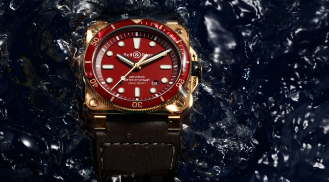 Bell & Ross Diver Bronze Gets a Red Dial Option