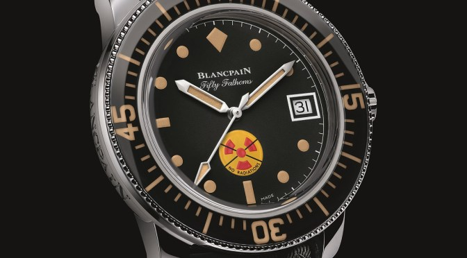 No Rad Blancpain Dive Watch; Brighter, Better