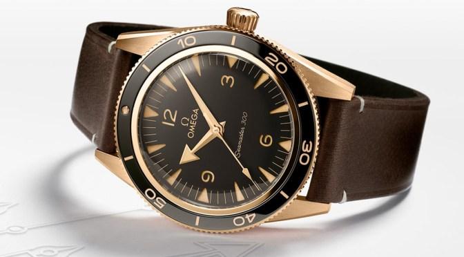 New Watches: Omega Seamaster 300 Bronze