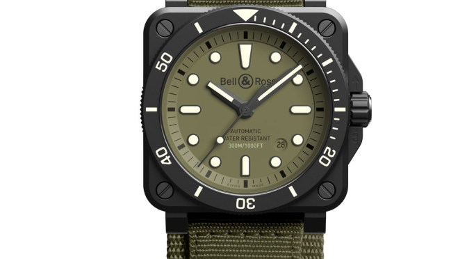 Bell + Ross Gets The Military Makeover