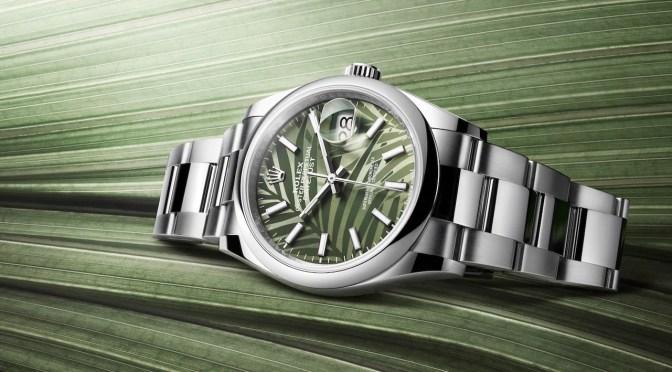 Rainforest Rolex Datejust? Hmm, Maybe Not