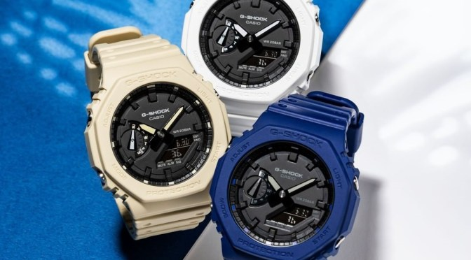 G-Shock Octagon Gets New Colour Options