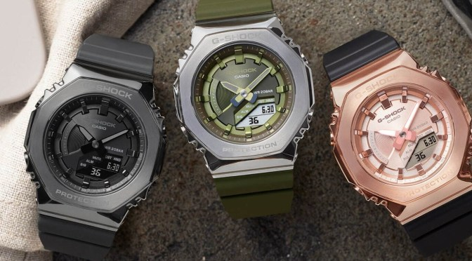 New Casio G-Shock GM2100 Colours