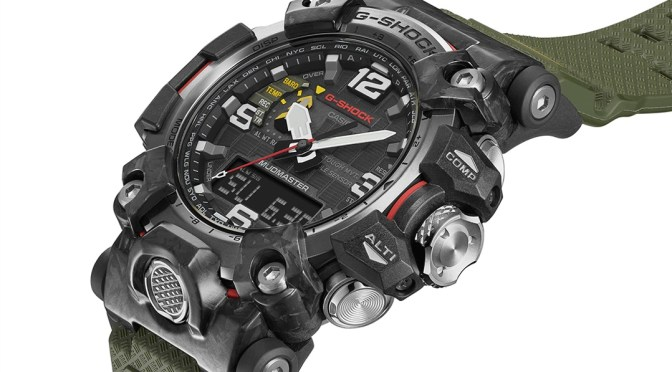 New G-SHOCK GWG is a Tough Mudder Special