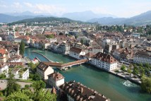 Beautiful Lucerne Switzerland Grand European Tour Part