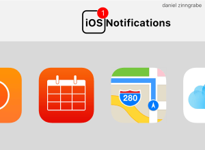 iOS Rich Notifications Book Landscape Cover