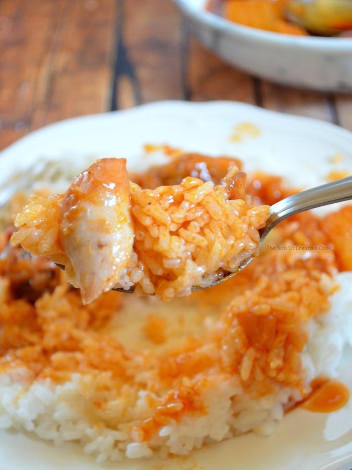 dinner Chicken Afritada (Afritadang Manok)