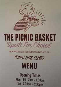 Picnic Basket Menu