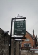 Hawkers Farm Shop Sign
