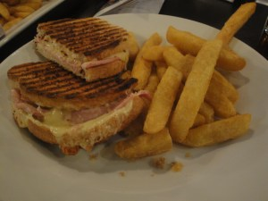 Wiltshire Cheese and Mature Cheese panini