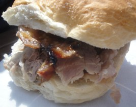 Hot Roast Pork Cobs