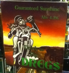Dreggs Beer at the Salutation
