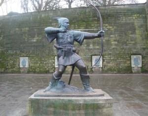 Robin Hood Statue