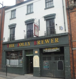 The Jolly Brewer in Lincoln